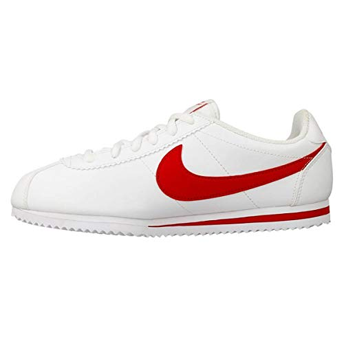 Nike Unisex Kinder Cortez (PS) Sneakers, Weiß/Rot (White/University Red), 29 1/2 EU