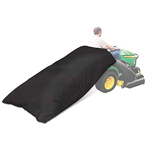 XINNI [Verbesserte Version 420D Rasentraktor Laubsack Grasfänger Laubsack Kapazität 54 Kubikmeter Verbesserte Doppelnaht