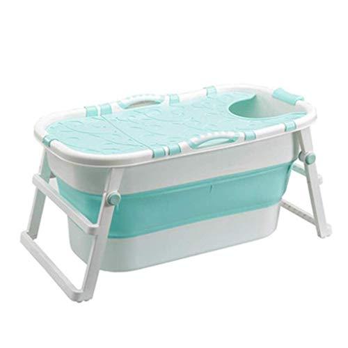 Inflatable tub Épaissi température constante économie Douche lavabo Espace, Baignoire en Plastique Pliable Vert, Pliable Bain Barrel Adulte Baignoire Ménage Bain Bassin for Enfants,