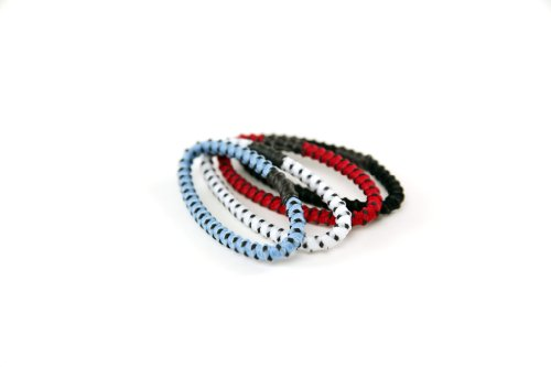 Goody Slide Proof Stayput, Hair Elastics Assorted Colors, 4 mm, 1 Count