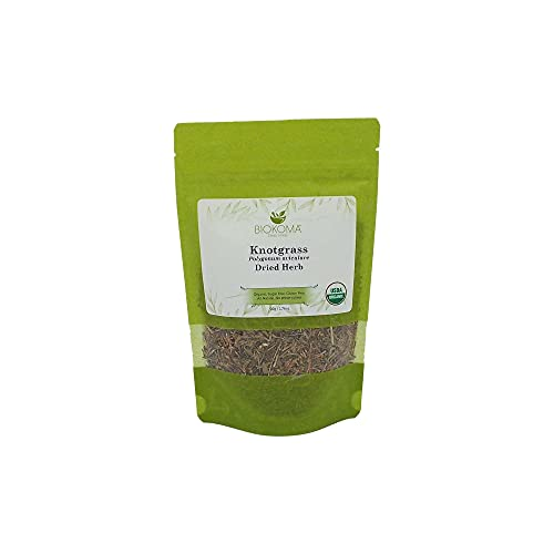 100% Pure and Organic Biokoma Knotgrass Dried Herb - Natural Herbal Tea in Resealable Pack Moisture Proof Pouch 50g