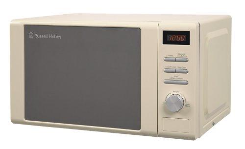 Russell Hobbs RHM2064C Heritage Digital Microwave, 20 Litre - Cream