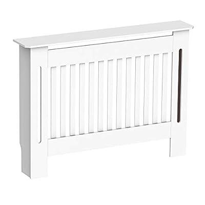 ✅PORTÁTIL Y PRÁCTICO: Este cubre radiador elegante está diseñado para darle a tu hogar una función decorativa. Y el peso ligero te facilita moverlo. Sería la mejor opción para uso en el hogar, la oficina, el dormitorio, etc. ✅BUENA VENTILACIÓN: El di...
