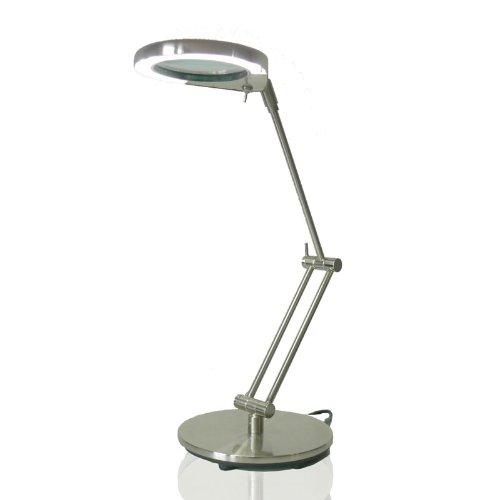 Kiom Lupenleuchte Tischlupenleuchte Nina LED Daylight 4,5W 4