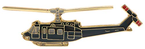 Sujak Military Items Huey UH-1 Iroquois Helicopter Miniature Replica Hat or Lapel pin HON14282