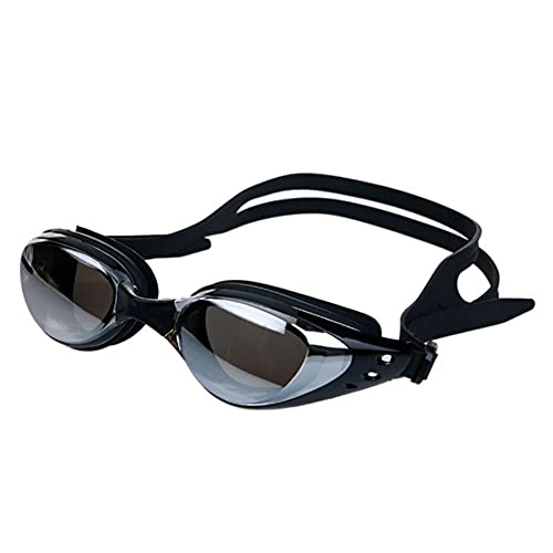 Hombres y Mujeres Anti-Niebla, Gafas de natación a Prueba de Agua Anti-Ultravioleta (Color : B, Size : One Size)