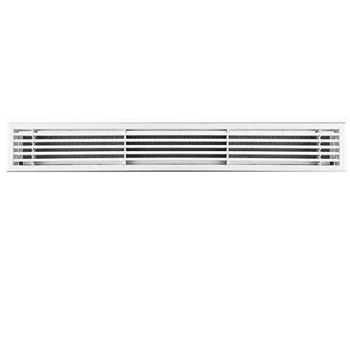 rejilla de retorno de aire acondicionado con filtro, persianas de rejilla de retorno de ABS, cubierta de conducto de aire acondicionado y abertura de acceso, para paredes laterales y techo