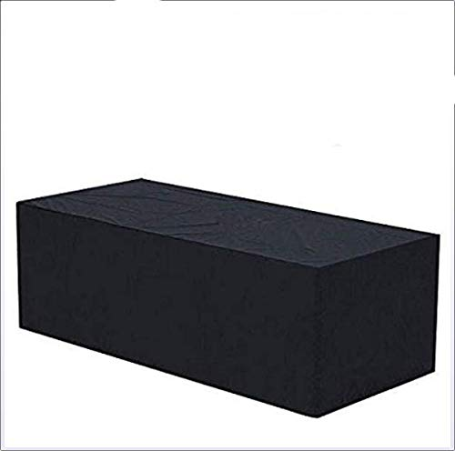 Cubierta de Muebles de Exterior Jardín a Prueba de Polvo y Cubierta Impermeable Muebles de jardín Cubre Mesa y Silla Cubierta,152 * 104 * 71cm