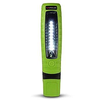 Schumacher Rechargeable Lithium Ion LED Work Light - Green - Cordless 360-Degree Swivel Multiple Lighting Options