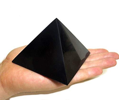 Russian Goods and Life Shungite - Piedras de cristal mineral (100 x 100 mm)