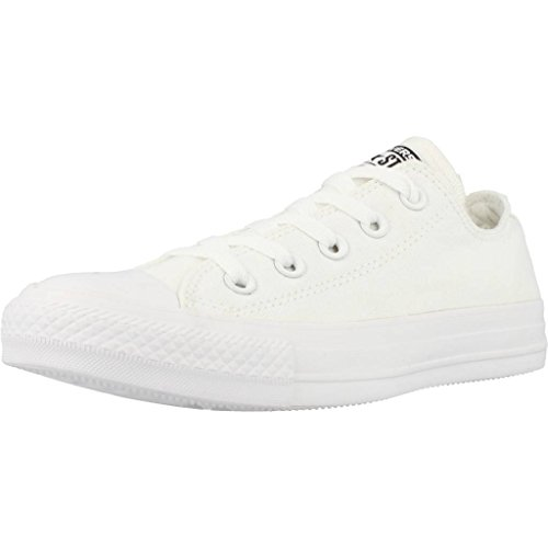 Converse Chuck Taylor All Star Low-top Star, Weiß (Monocrom), 43 EU