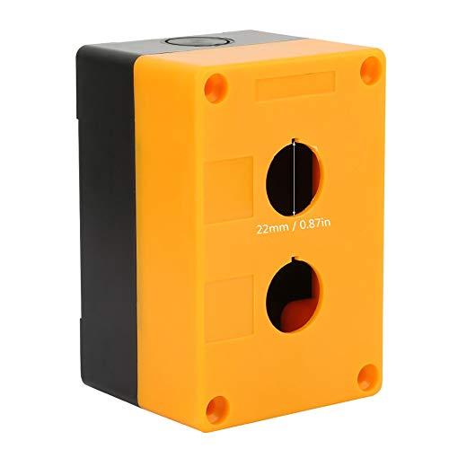 2 STÜCKE BX2 Schalter Box 22mm 2 Löcher Ausrüstung Aufzug Aufzug Notfall Wasserdichte Taste Box Fall