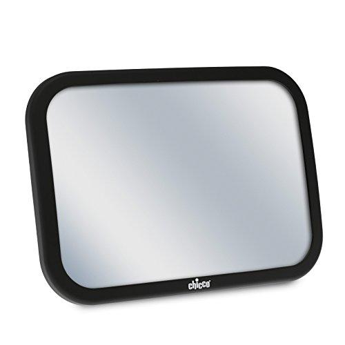 Chicco 06079587950000 Specchio Auto per Sedile Posteriore, Nero