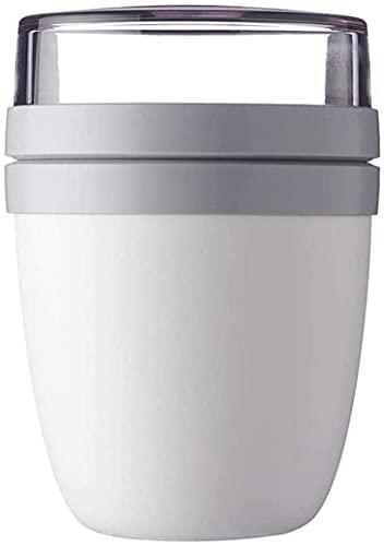 700 Ml Praktischer Müslibecher500 Ml Praktischer Müslibecher +200ml Tasse Deckel Schüssel, Joghurtbecher, to Go Becher – Geeignet Für Tiefkühler, Mikrowelle Und Spülmaschine