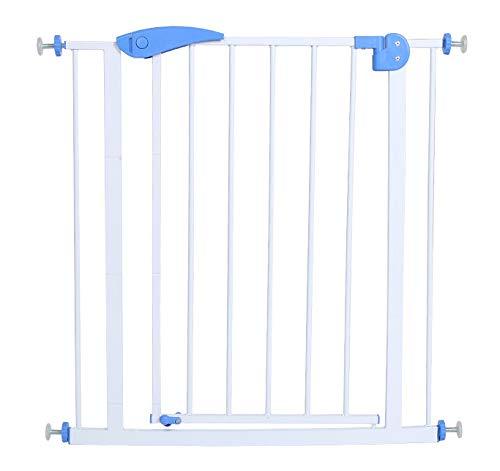 libby-nice Treppenschutzgitter Keine Stempeltür Garant Für Die Haustür Der Haustierstange 75cm-80cm Blau
