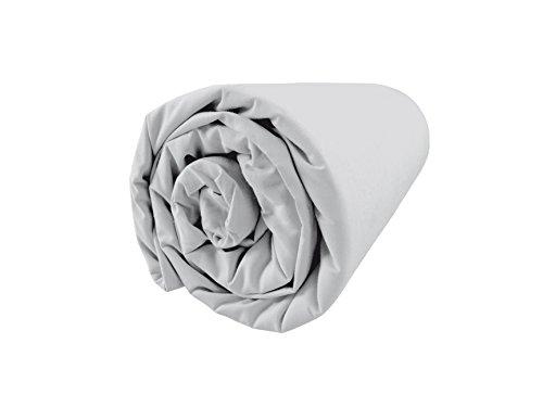 BLANC CERISE Drap Housse en Percale, Bonnet 37 180x200 cm