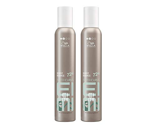 Wella Professionals Eimi Boost Bounce Curl Enhancing Mousse DUO Pack 2 x 300ml by Wella Eimi