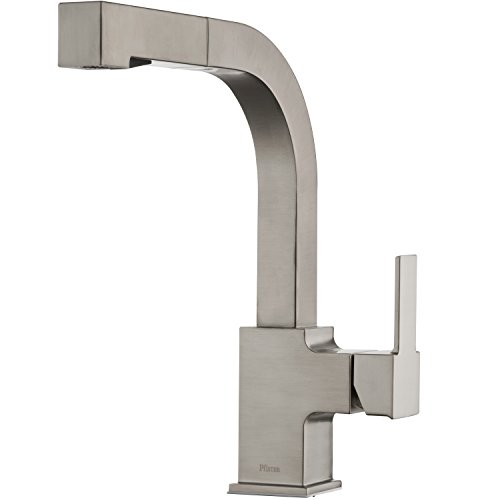 Product Image of the Pfister LG534-LPMS Arkitek Kitchen Faucet with Pull-out Sprayhead, Stainless steel
