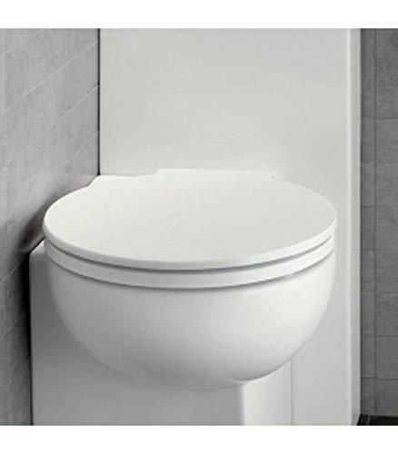 Copriwater coprivaso originale per sanitari bagno You&me soft-close di Hatria