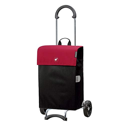 Andersen Shopper Scala mit Tasche Hera 44 Liter rot