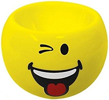 Preisvergleich für Zak Designs 6727-4461 Smiley Emoticon zwinkern Eierbecher gelb