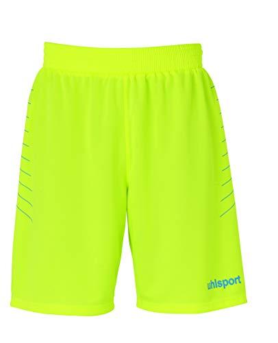 uhlsport Short Match Gk/Pantalón Corto/Equipamiento De Portero Negro, XXS/XS Shorts, Hombre, Amarillo...