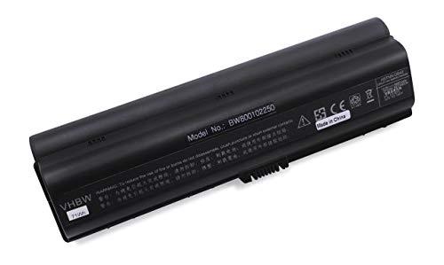 vhbw Batterie Li-ION 6600mAh 10.8V Noire pour HP Pavillion DV6040CA, remplace Les modèles HSTNN-LB31 / HSTNN-DB31 / HSTNN-DB32 / HSTNN-IB31