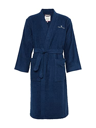TOM TAILOR 0100300 Bademantel Kimono Größe: XXL navy