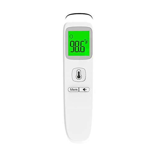 Medizinisches Stirn und Ohr Messung-Instrument, Digitales Infrarot Messung 4 in 1 Multifunktion, Kontaktlos...