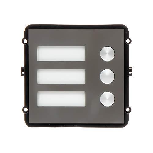 Dahua VTO2000A-B - Módulo de 3 Botones de Llamada para videoportero Modular VTO2000A-C