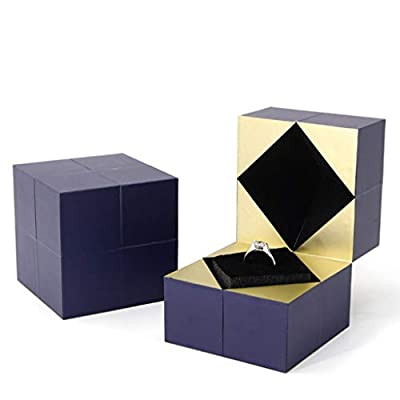 Amazon - Save 80%: Ring Box, Creative Personalized Jewelry Packaging Ring Square B…