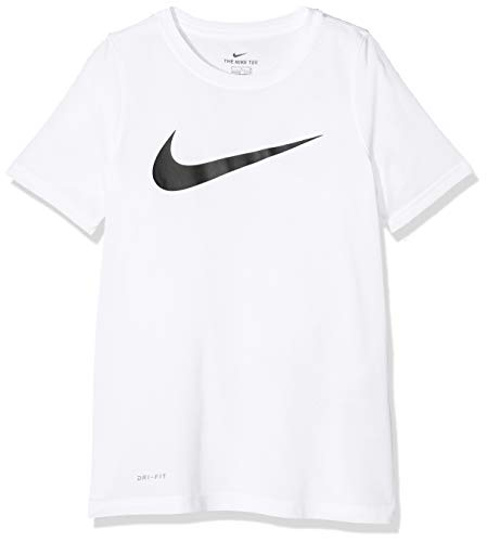 Nike B NK Dry TEE Leg SwooshShips Directly from Ships Directly from White/Black