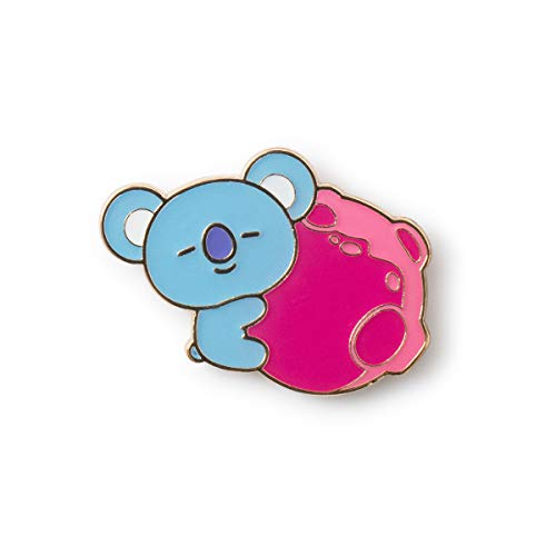 BT21 Space Squad Collection KOYA Character Cute Enamel Lapel Pins Brooch Badge for Backpacks