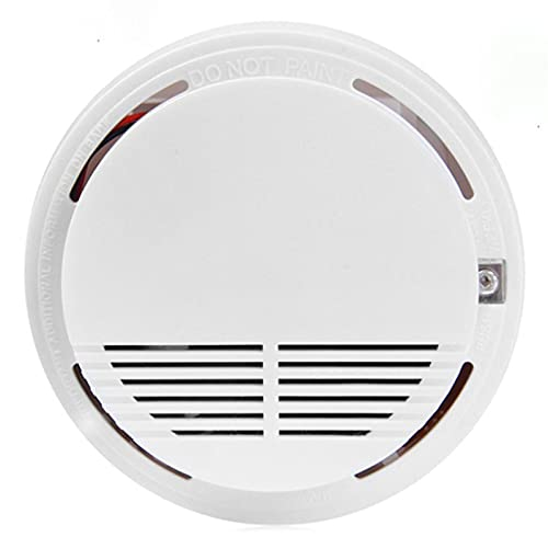 Alaman Smarter Rauchmelder, 10-Jahres-Batterie, Selbsttest-Funktion, 85-dB-Alarm, Eigenständiges Gerät, EN14604 Zertifizierter