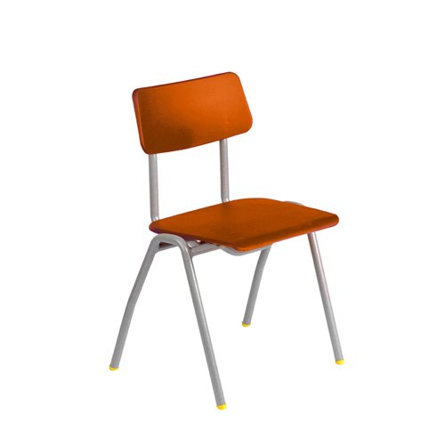 Metalliform Bse-sg-orange Standard Chaise de salle de classe avec assise 430Â mm, Orange