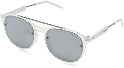 Polaroid Unisex-Erwachsene Pld 6020/S Jb Tny 55 Sonnenbrille, Grau (Ruthen/Greyilmir)