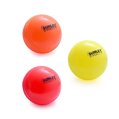 Sunley Multicolor Wind Ball for Cricket (3)