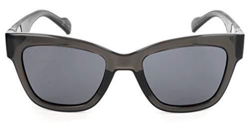 adidas Sonnenbrille AOG002 Rechteckig Sonnenbrille 52, Schwarz