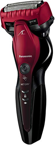 パナソニック ラムダッシュ メンズシェーバー 3枚刃 お風呂剃り可 赤 ES-CST6S-R