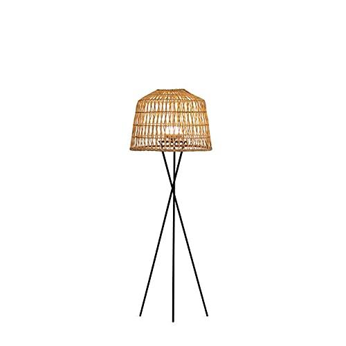 AMALFI-Lámpara de pie exterior inalámbrica, bombilla recargable con mando a distancia, H148 cm, natural New Garden