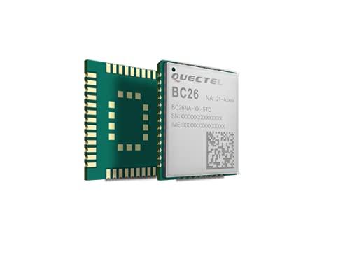 IGOSAIT BC26 NB-IOT módulo BC26NC-04-STD NB placa núcleo OpenCPU desarrollo secundario multi-banda LTE Cat NB1 comunicación inalámbrica (color : módulo BC26)