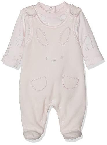 Chicco Unisex Baby Completo Body Lunghe Con Tutina Senza Maniche Strampler, Pink (Rosa Chiaro 011), 86 (Herstellergröße: 086)