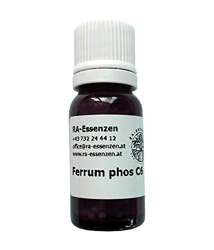 Ferrum phosphoricum C6, 10g Bio-Globuli, radionisch informiert - in Apothekenqualität