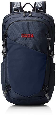 [ウッズ] パネルバックパック WS18W-002 WS18W-002NV ネイビー One Size