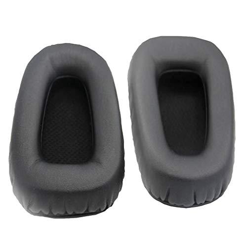Shiwaki Almohadillas de Esponja de Recambio Cómodo Compatible con Razer Electra, Negro