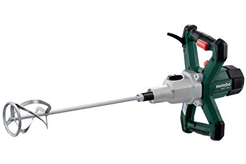 Metabo 614046000 Rührwerk RWEV 1200 - 2 | + Rührstab Typ RS-R3 | ergonomische Griffe / Gummiecken am Gehäuse / VTC Vollwellenelektronik (1200 W | Leerlaufdrehzahl: 0 - 580 /min | 4,3 kg)