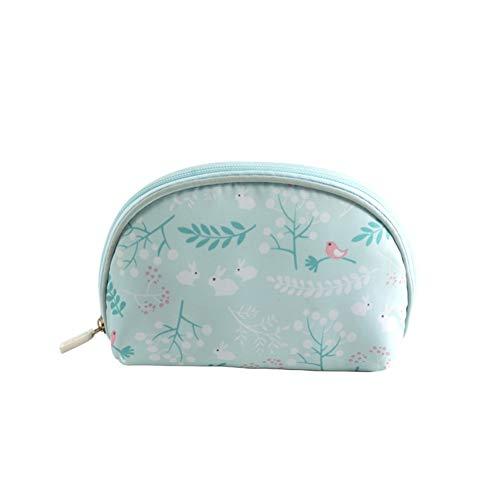 BIGBOBA Sac à Cosmétiques De Voyage Trompette Portable Mini Trousse De Maquillage Trousse De Toilette Portable Polyester Taille 19 * 12.5 * 4.5cm