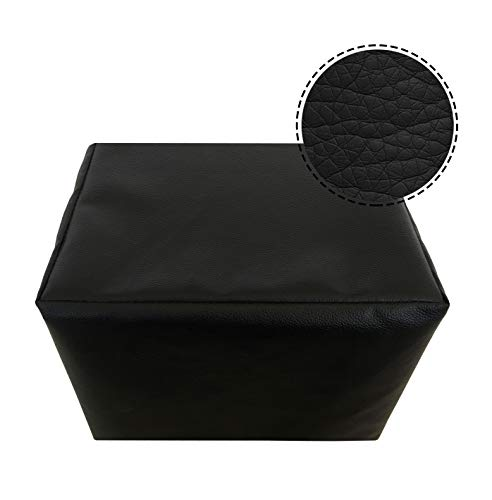 Dorado PU Leather Cover for All Kinds of Table Top Wet Grinder Machines – (L X B X H) 49 X 30.5 X 30 cm (Black)