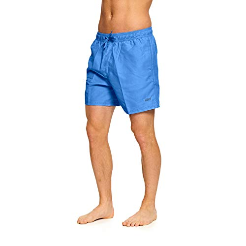 Zoggs Herren Mosman Washed Badeshorts, blau, Large/36 Zoll