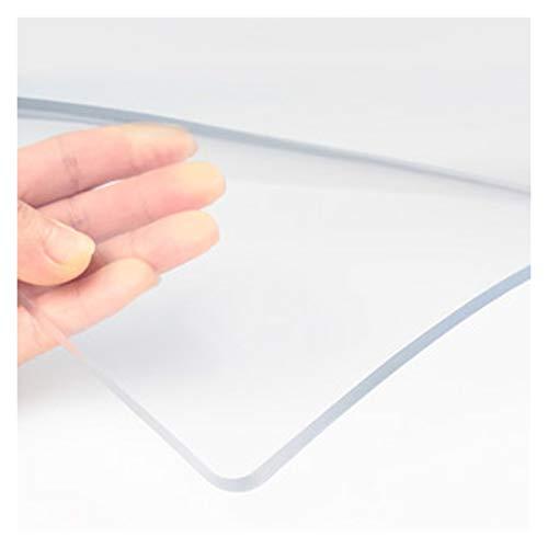 ALGWXQ Mantel de Plástico PVC Alta Tenacidad Resistente A Rayones A Prueba de Polvo Protector Mesa Transparente Usado para Comedor, Gabinete de TV, Mesilla de Noche, 1,5 Mm, 22 Especificaciones